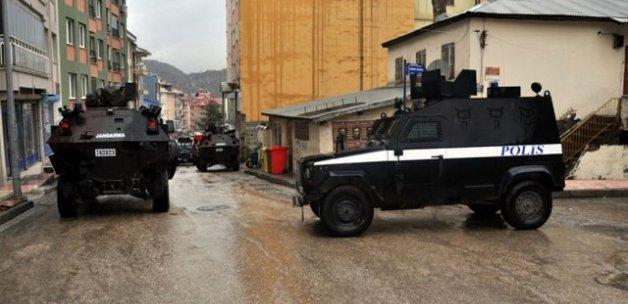 Tunceli'de terör örgütü operasyonu