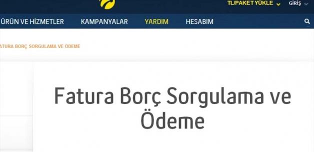 Türkcel Fatura Borcunuzu İnternet Üzerinde Sorgulama ve Öğrenme Yolları