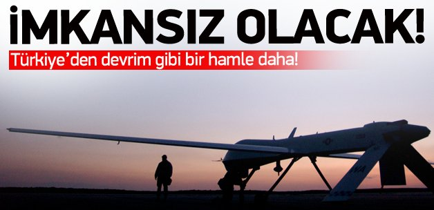 Türkiye'den devrim gibi hamle!