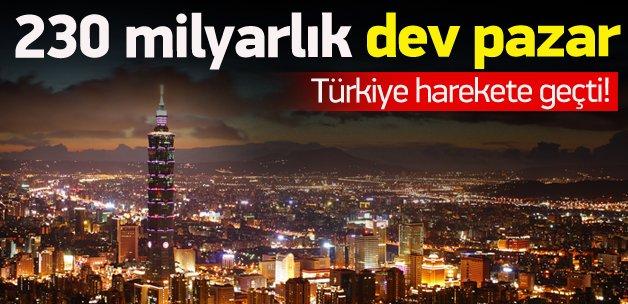 Türkiye dev pazar için harekete geçti