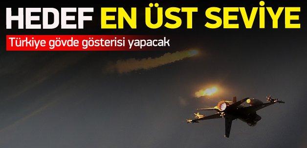 Türkiye gövde gösterisi yapacak