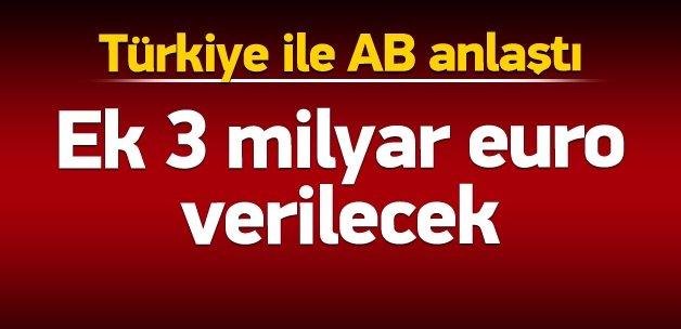 Türkiye ile AB anlaştı!