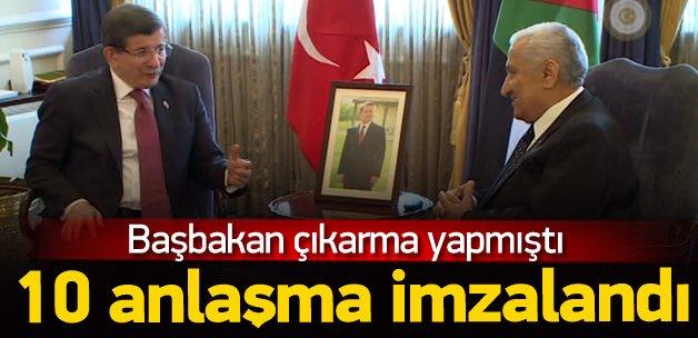 Türkiye ile Ürdün arasında 10 anlaşma imzalandı