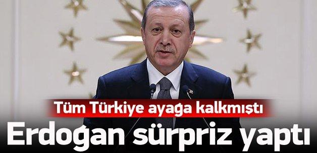 Türkiye onu konuşmuştu, Erdoğan sürpriz yaptı