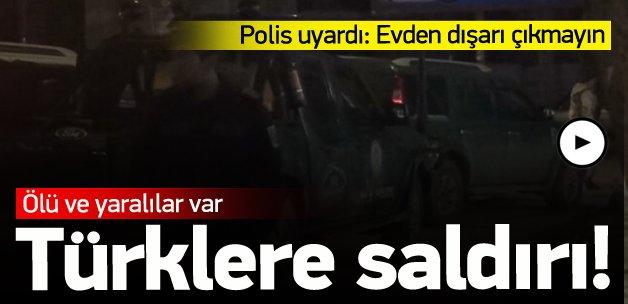 Türklere saldırı: 2 ölü, 2 yaralı
