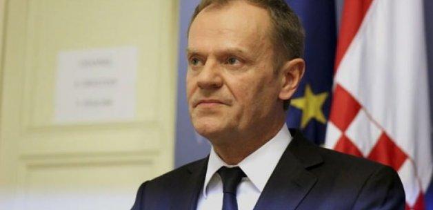 Tusk: Avrupa'ya gelmeyin