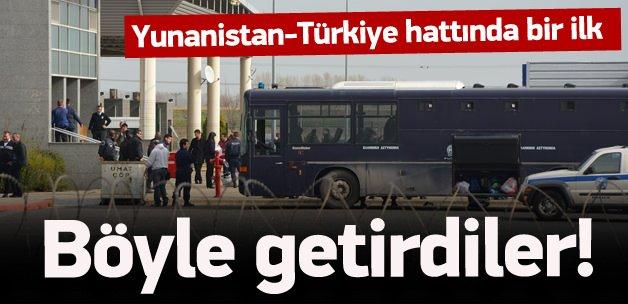 Yunanistan bazı kaçakları Türkiye'ye iade etti