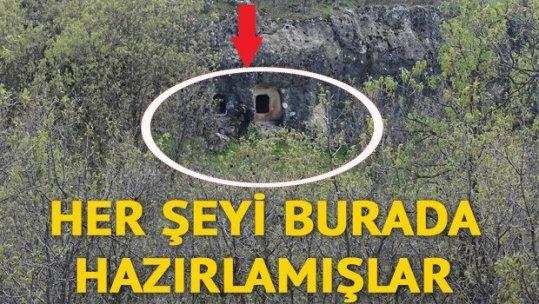 20 PKK'lı etkisiz hale getirildi, sığınaklar bulundu