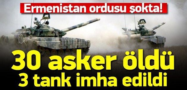 30 Ermeni askeri öldürüldü