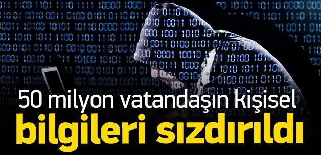 50 milyon Türkün bilgileri sızdırıldı mı?