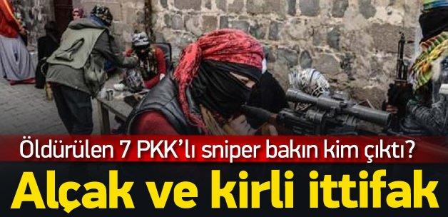 7 PKK'lı keskin nişancı Ermeni komandosu çıktı
