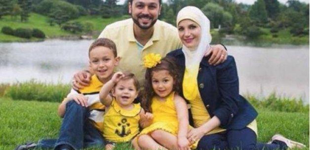 ABD'de Müslüman aile uçaktan indirildi