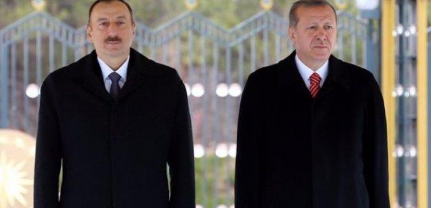 Aliyev'den Türk halkına teşekkür