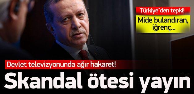 """Alman devlet televizyonunda """"Türkofobi"""""""