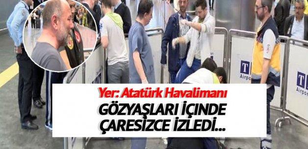 Atatürk Havalimanı'nda acı ölüm