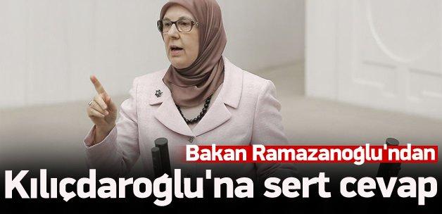 Bakan Ramazanoğlu'ndan Kılıçdaroğlu'na sert cevap