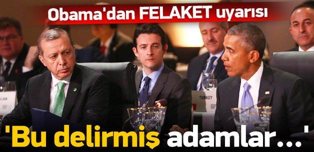 Barack Obama'dan korkutan uyarı