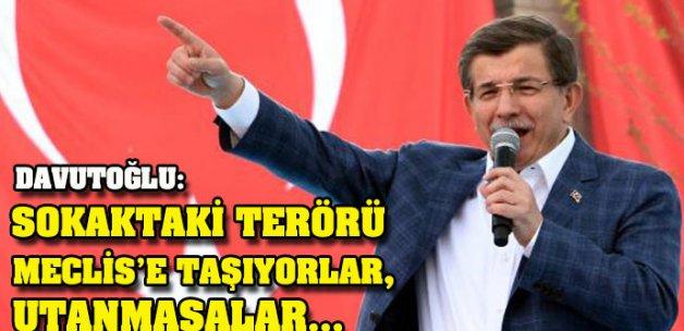 Başbakan Davutoğlu Muş'ta konuştu