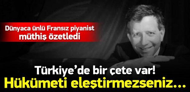Blet: Türkiye'yi sevdiğim için cezalandırılıyorum