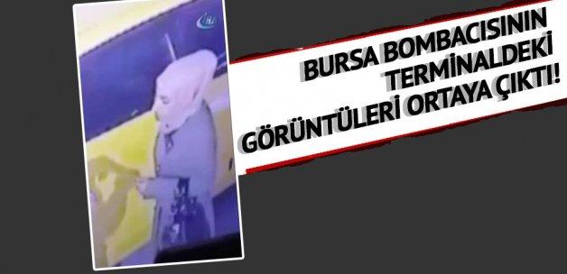 Bursa bombacısının terminaldeki görüntüleri ortaya çıktı