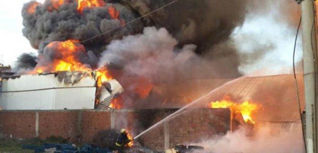 Bursa'da büyük yangın! Dumanlar her yeri kapladı