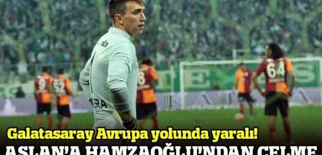 Bursaspor 1-1 Galatasaray Maçı Özeti ve Golleri (BURSA GS MAÇI SKORU, GENİŞ ÖZETİ)
