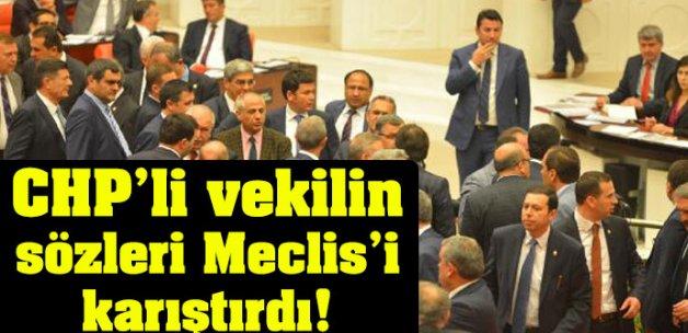 CHP'li Özcan'ın sözleri Meclis'i karıştırdı