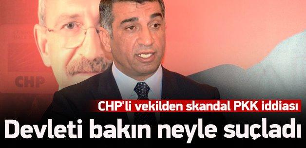 CHP'li vekilden devlete skandal suçlama