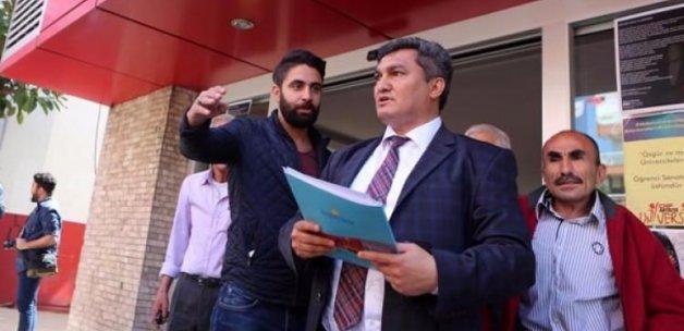 CHP'li eski ilçe başkanı il binasına alınmadı