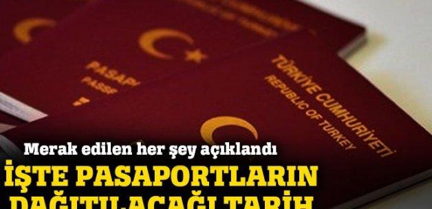 Çipli pasaportlar ne zaman dağıtılacak?