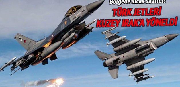 Çukurca'dan F-16'lar havalandı