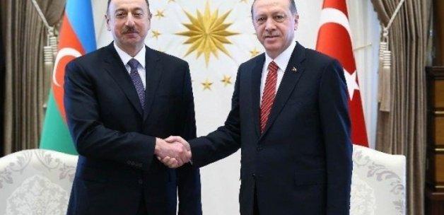 Cumhurbaşkanı Erdoğan Aliyev'i aradı