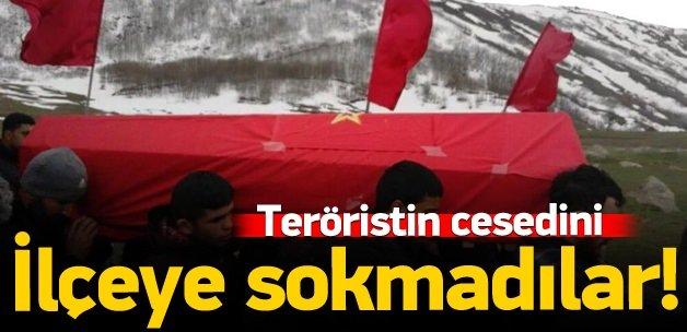 DHKP-C'linin cesedi Erzincan'a sokulmadı