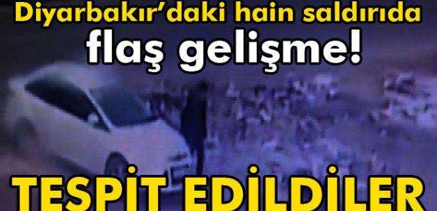 Diyarbakır'daki hain saldırının teröristleri tespit edildi