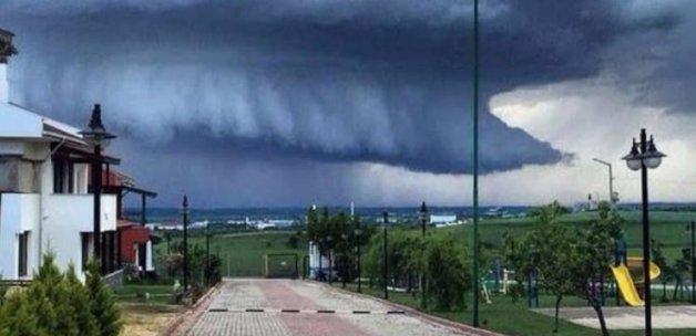 Edirne'de çekildi: Uçak bile düşürebilir!