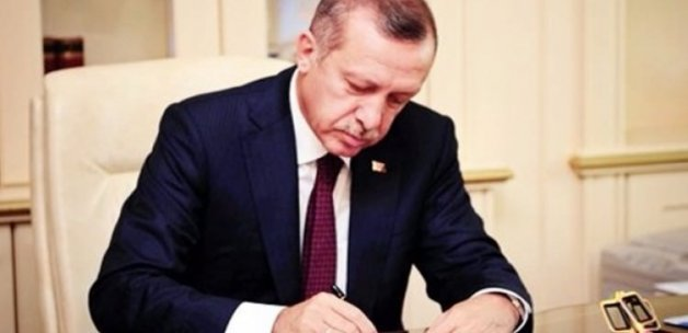 Erdoğan 3 kanuna onay verdi