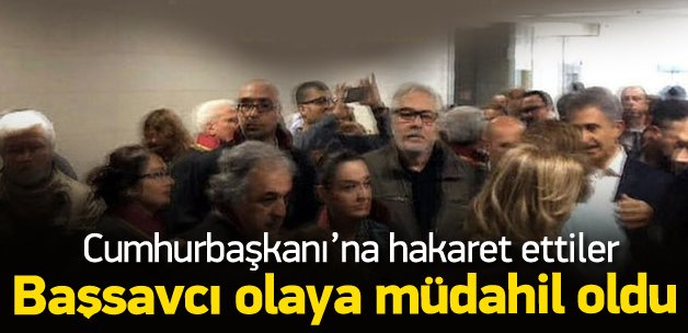 Erdoğan'a hakarete soruşturma