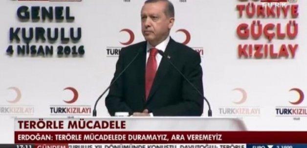 Erdoğan: Bu numaraya mesaj atanlara teşekkürler