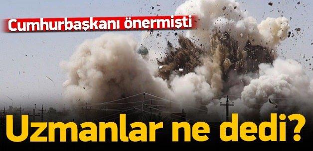 Erdoğan'ın önerisine uzmanlar da destek verdi