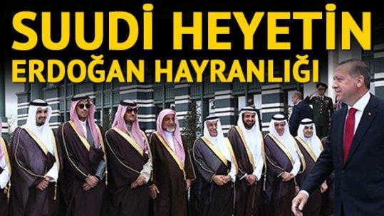 Erdoğan Kral Selman'ı karşıladı