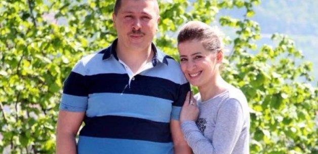 Eşinin böbreğiyle hayata tutundu