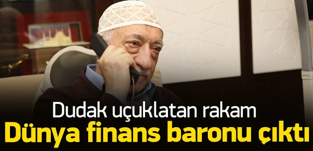 Gülen finans baronu çıktı