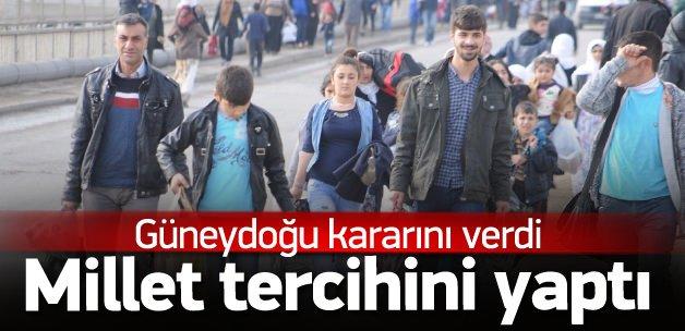 Güneydoğu halkı PKK'yı istemiyor