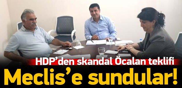 HDP'den TBMM'ye Abdullah Öcalan teklifi!