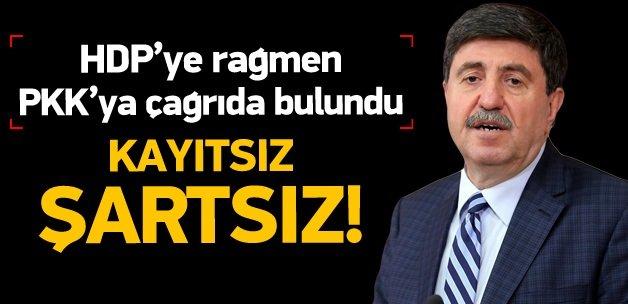 HDP'li Tan: PKK kayıtsız, şartsız silah bıraksın!