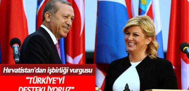 'Hırvatistan, AB üyeliği yolunda Türkiye'yi destekliyor'
