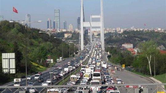 İstanbul'da bu sabah trafik felç oldu