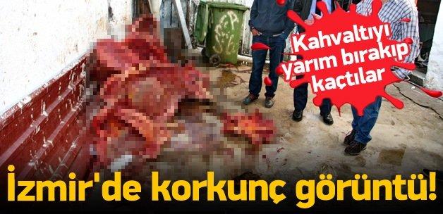 İzmir'de korkunç görüntü!