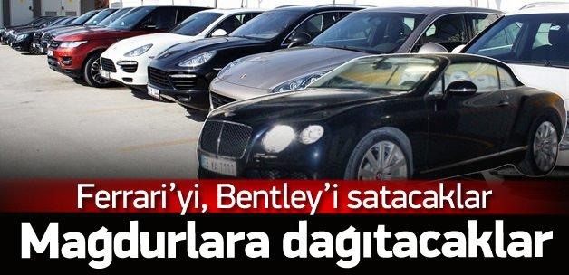 Kayyumdan satılık Bentley