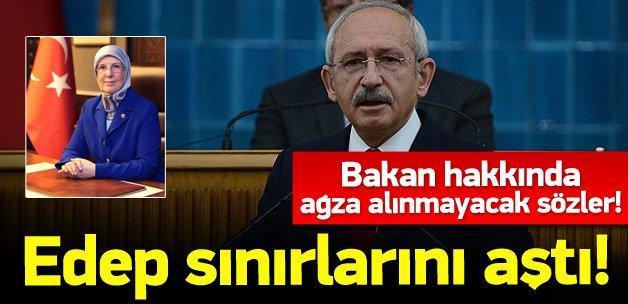 Kılıçdaroğlu'ndan Bakan hakkında çirkin sözler